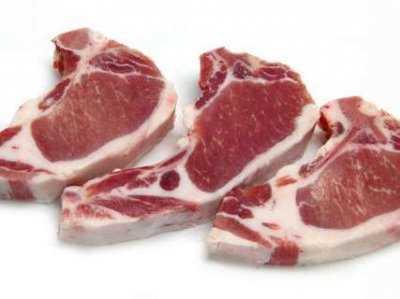 маринованный свиной антрекот