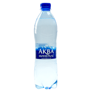 Вода аква минерале 0,6л